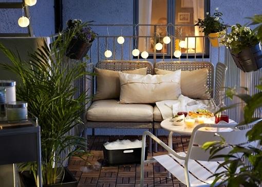 Decorar balcones y terrazas peque as ocho ideas pr cticas - Decorar terrazas con encanto ...
