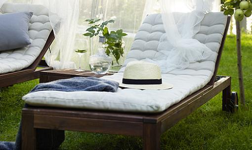 Las mejores tumbonas ikea para tu jard n o terraza for Mobiliario jardin ikea