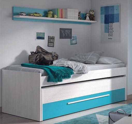 cama nido con cajones la m s pr ctica para el dormitorio