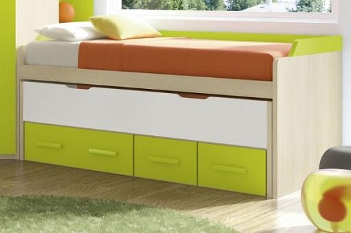 Cama nido con cajones la m s pr ctica para el dormitorio for Expomobi muebles