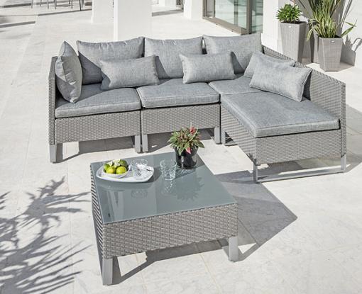 Los mejores muebles de jardin carrefour unacasabonita for Conjunto muebles terraza