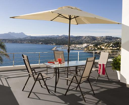 Los mejores muebles de jardin carrefour unacasabonita - Mesa plegable jardin carrefour ...