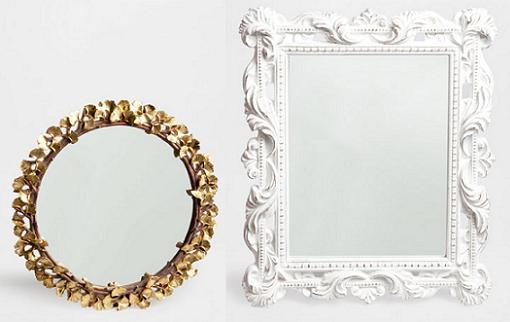 Gu a de espejos decorativos baratos para decorar el sal n for Espejos decorativos blancos