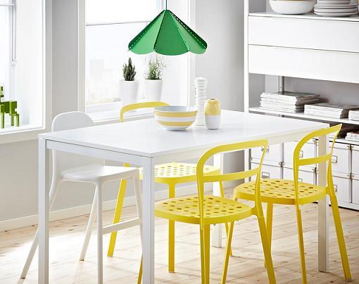 5 mesas de cocina ikea baratas extensibles de madera for Mesas de cocina blancas