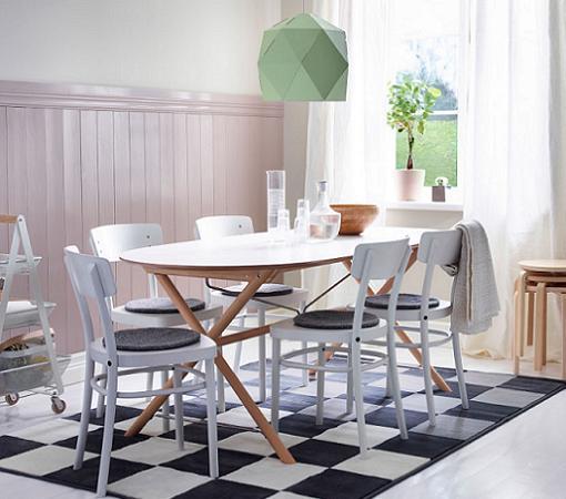 5 mesas de cocina ikea baratas extensibles de madera - Mesas para cocina extensibles ...