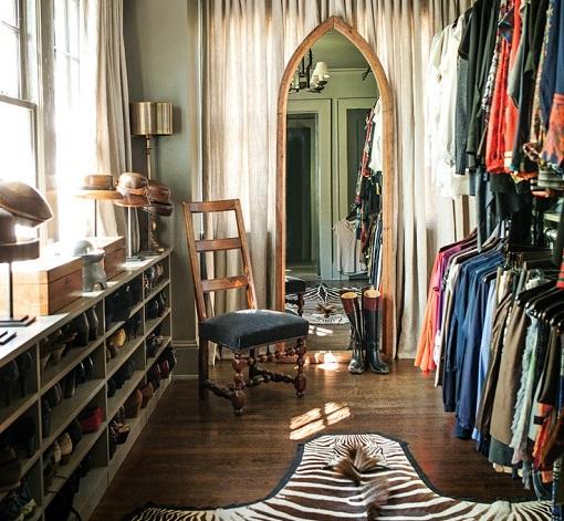 vestidor ecléctico