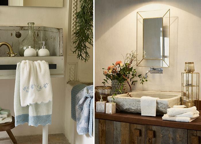 baño toallas zara home catalogo otoño invierno 2015 2016