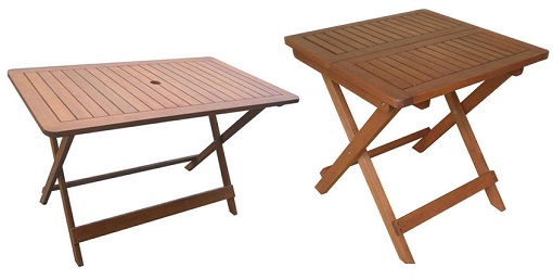 mesas de jard n baratas para comer al aire libre