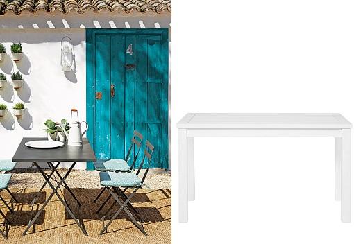 Mesas de jard n baratas para comer al aire libre for Mesas jardin el corte ingles