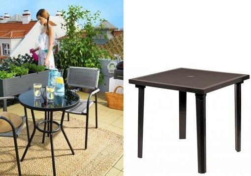 Mesas de jard n baratas para comer al aire libre for Mesas jardin baratas