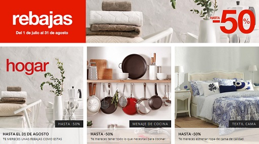 Las mejores compras de las rebajas el corte ingl s hogar for Lo mejor en muebles para el hogar