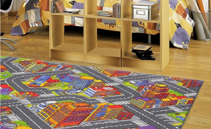10 alfombras infantiles baratas ideales para la habitaci n for Alfombras infantiles