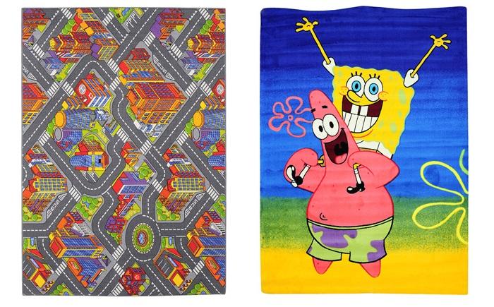 10 alfombras infantiles baratas ideales para la habitaci n - Alfombras leroy merlin infantiles ...