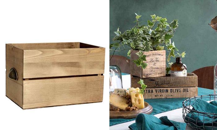 cajas de madera palets hm