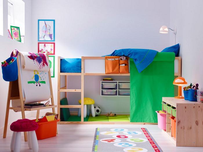 camas altas infantiles ikea