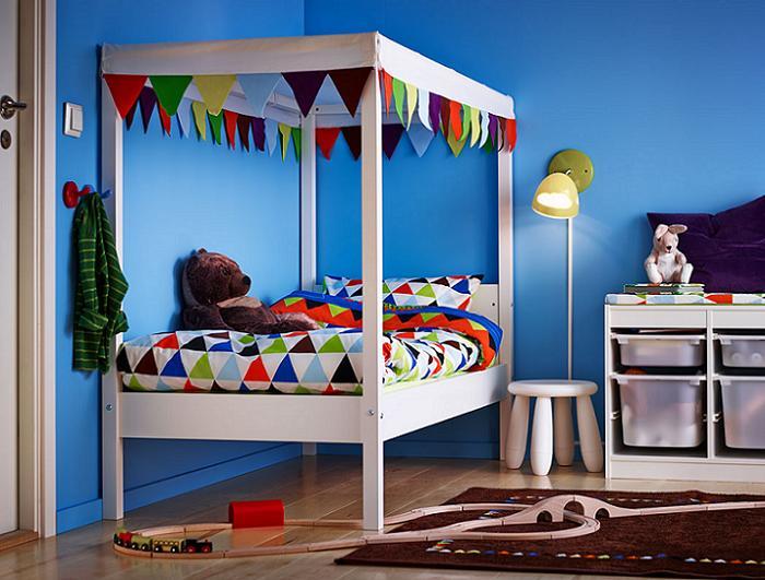 camas infantiles ikea con dosel