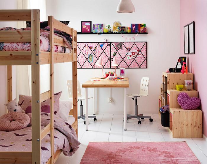 Las mejores camas infantiles ikea baratas y bonitas for Habitaciones de nina baratas