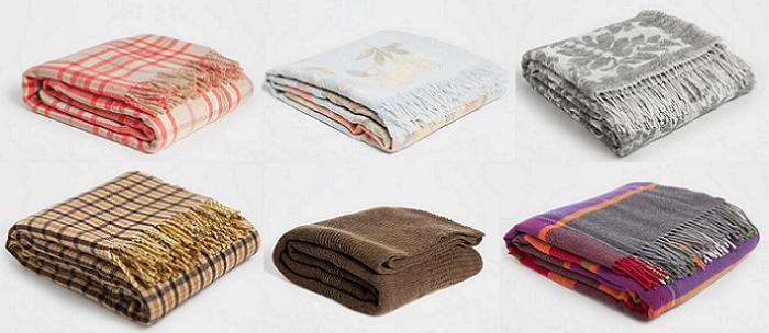 24 mantas zara home para el sof muy decorativas de pelo