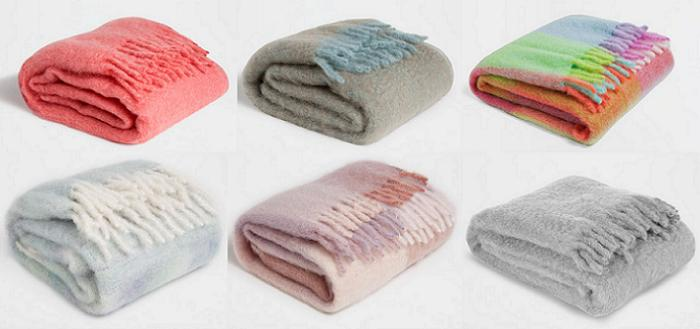 24 mantas zara home para el sof muy decorativas de pelo - Ikea mantas para camas ...
