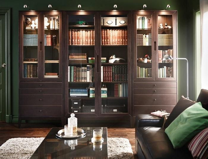 7 vitrinas Ikea que darán un plus de encanto a tu salón o comedor ...