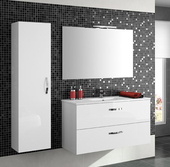 Muebles para baño blanco ~ dikidu.com