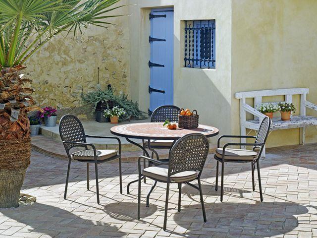 muebles de jardin carrefour mesa de terraza