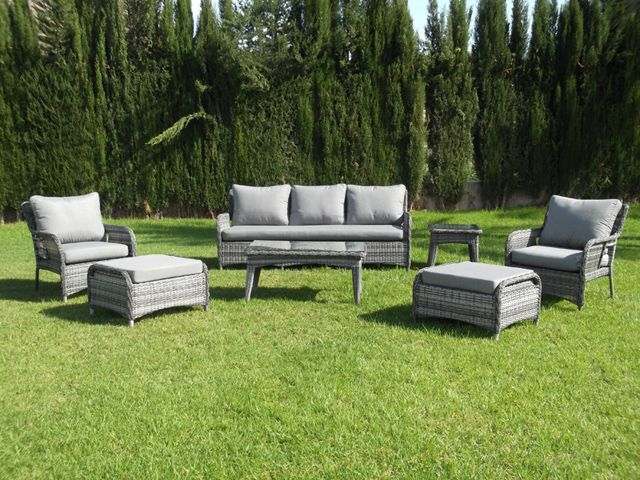muebles de jardin carrefour salon