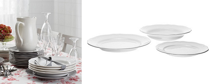 Vajillas de ikea super completas y baratas para tu mesa for Vajilla moderna barata