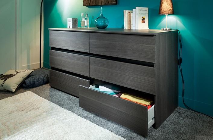 cómodas Conforama para el dormitorio