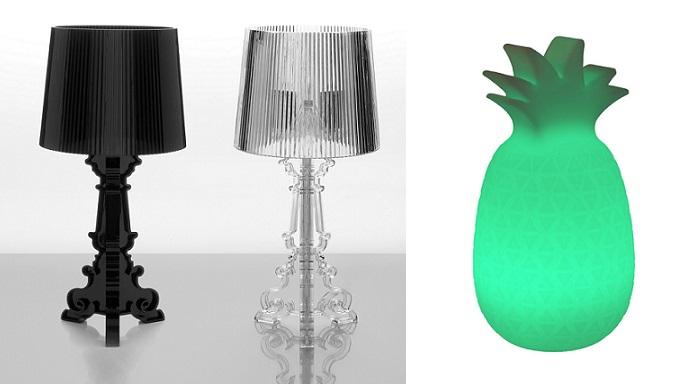 lamparas de mesa de noche modernas
