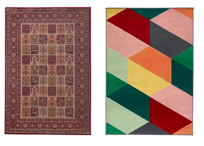 10 alfombras de sal n baratas pero repletas de estilo - Alfombras grandes baratas ...