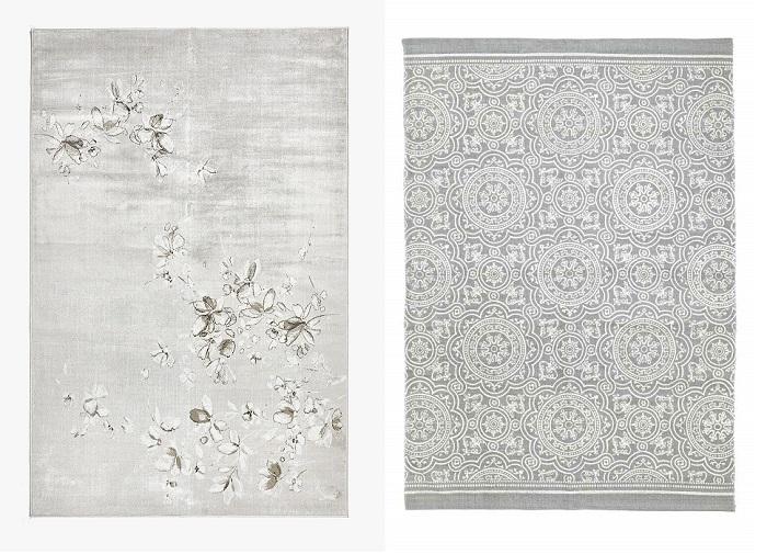 alfombras para el salón con las últimas tendencias