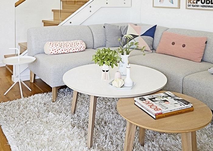 fotos salones escandinavos modernos