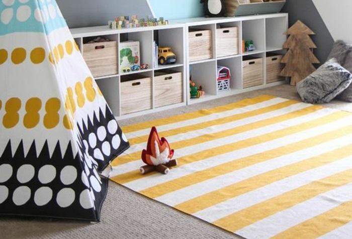 alfombra para cuarto de juegos