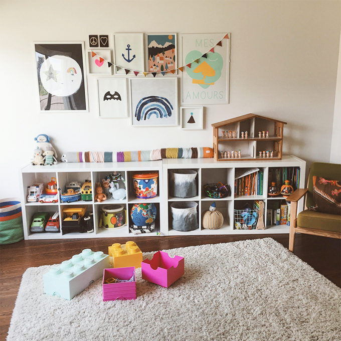 almacenaje para cuarto infantil