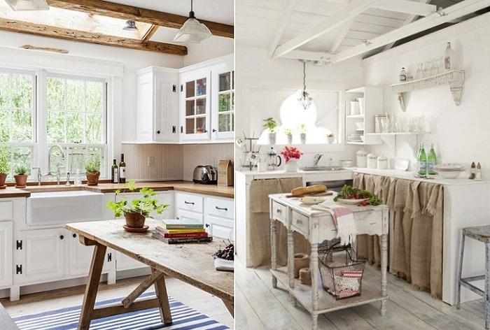 Ideas para dise ar cocinas blancas que no pasan de moda - Cocinas blancas clasicas ...