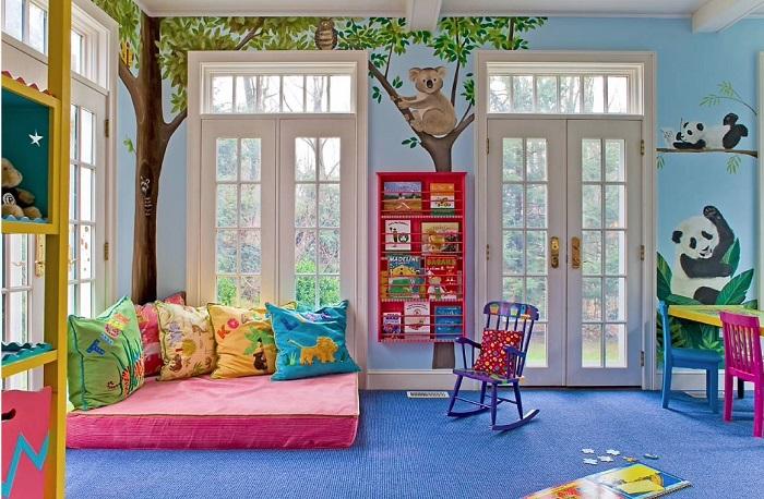 5 ideas prácticas para decorar cuartos de juegos infantiles