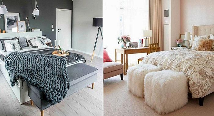 dormitorios de matrimonio modernos banco