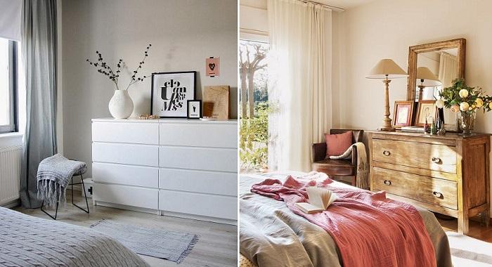 dormitorios de matrimonio modernos comodas