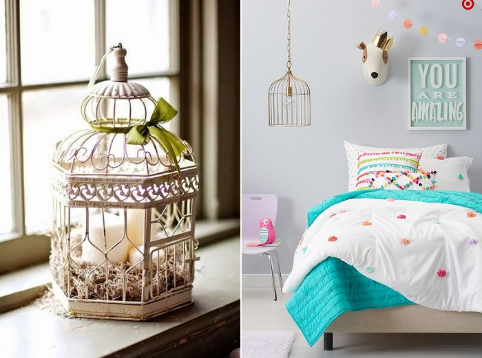 lámparas jaulas