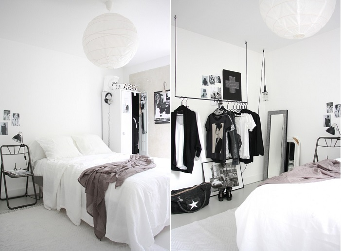 Pintar el dormitorio juvenil de blanco