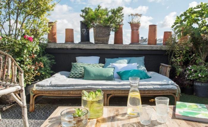 zona relax terraza