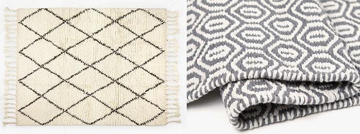 Las mejores alfombras de zara home para decorar tu sal n o dormitorio - Las mejores alfombras ...