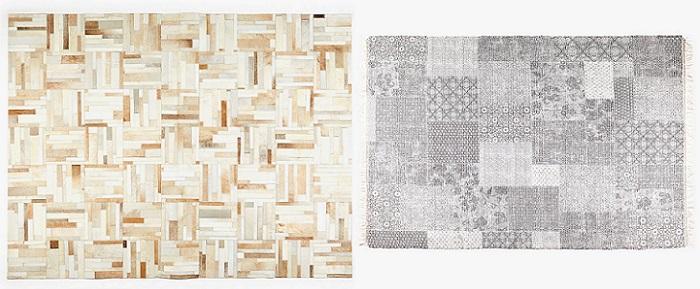 alfombras de zara home patchwork