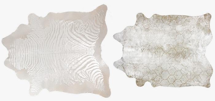 alfombras de zara home piel