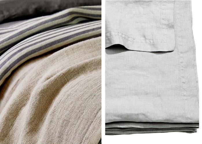 colchas de lino
