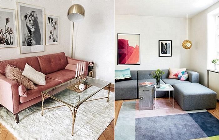 decoracion de salones modernos sofas