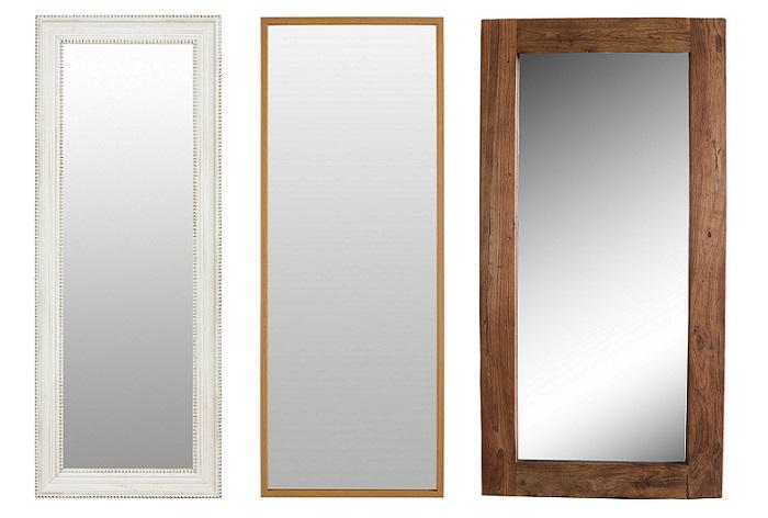 10 espejos grandes de pared para verse de cuerpo entero for Espejos grandes baratos