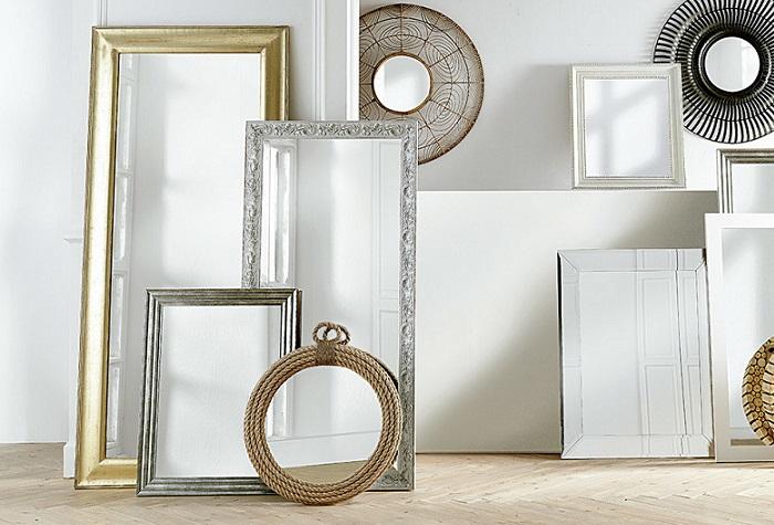 10 espejos grandes de pared para verse de cuerpo entero for Espejos grandes de pared ikea