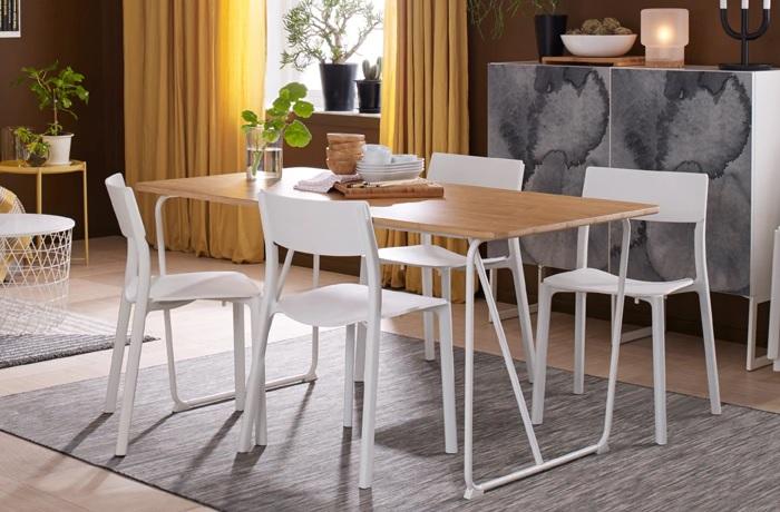 6 mesas de comedor Ikea que merecen la pena por su diseño y ...